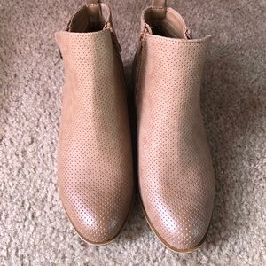 Madden Girl Taupe Ankle Boot